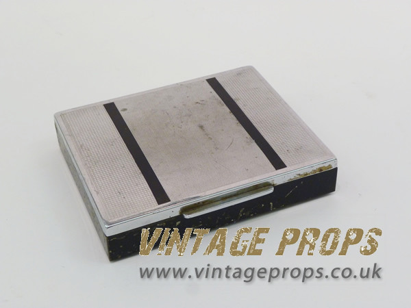 1: Art Deco cigarette box