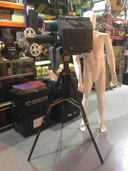 1: Vintage projector