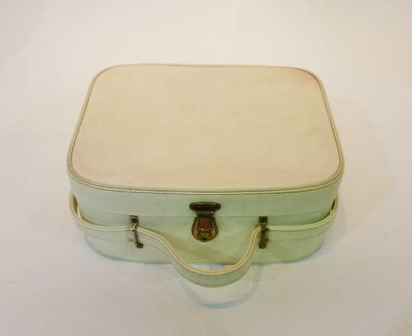 4: Small White Vanity Case