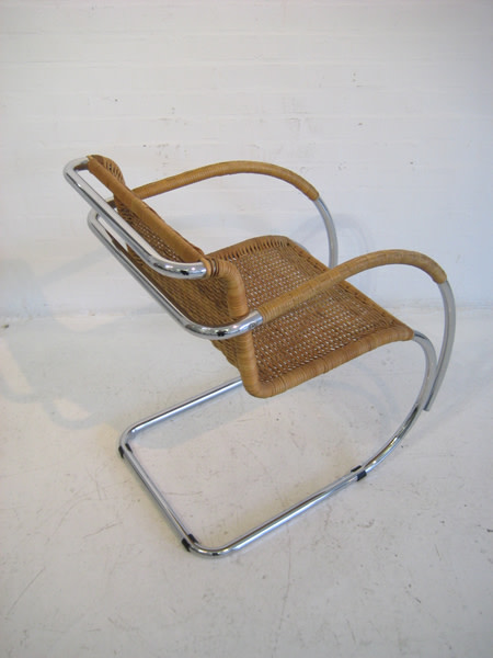 3: Cantilever chairs designed by Mies van der Rohe