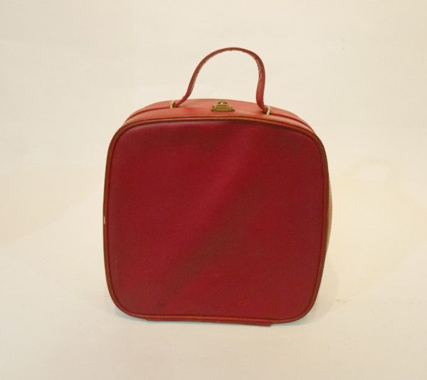 4: Small Red Vanity Case