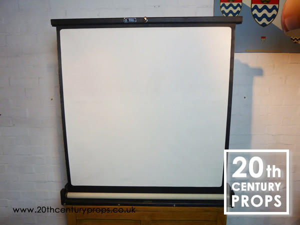 2: Collapsible projector screen
