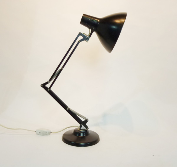 3: Black Angle Poise Desk Lamp