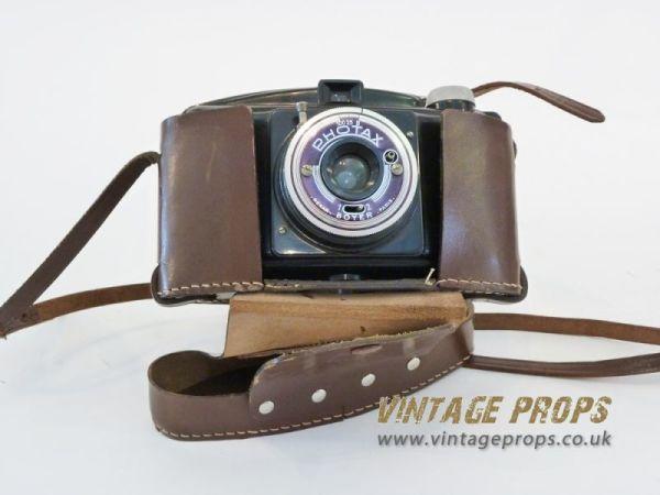 2: Vintage 'Photax' camera