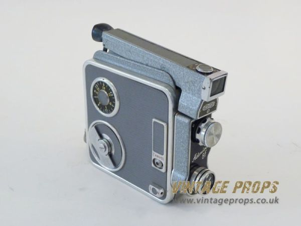 1: Vintage 8mm movie camera