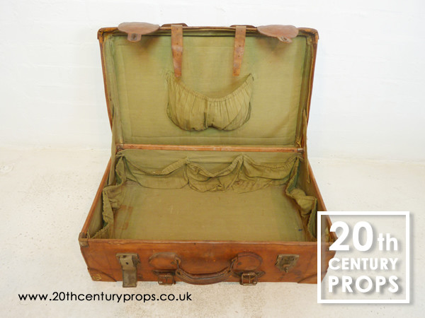 2: Leather Vintage Suitcase