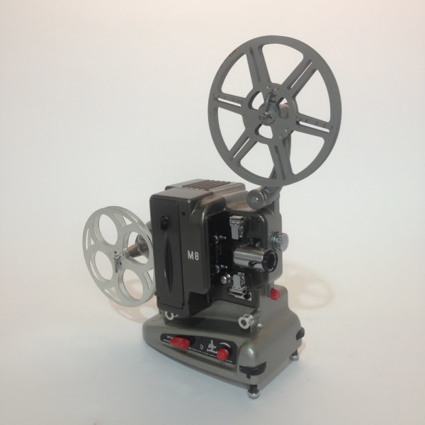 2: Silver and Black Bolex 8mm Film Projector