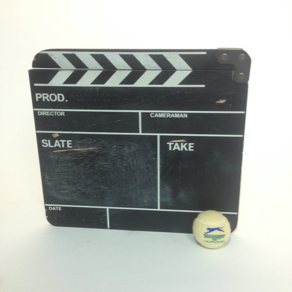 1: Film Clapper Board