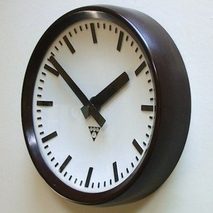 1: Industrial Factory Clock