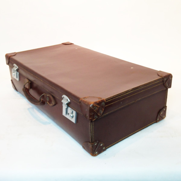 3: Brown Leather Suitcase 4