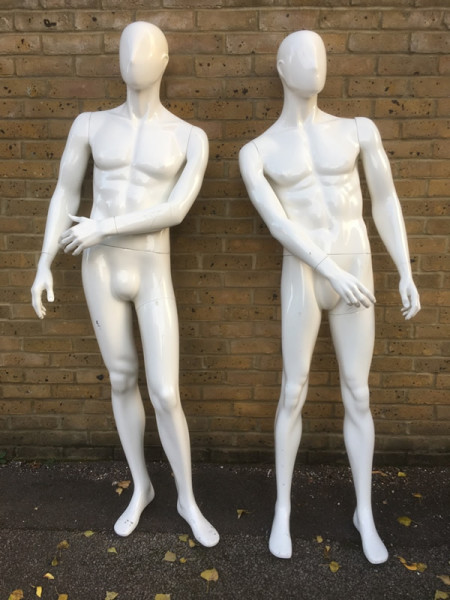 1: Male Mannequins