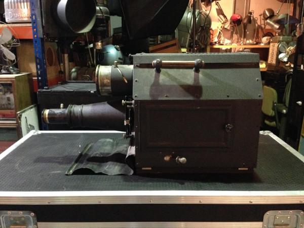 4: Vintage projector