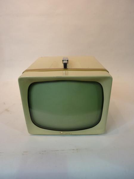 2: White Vintage 1950's TV
