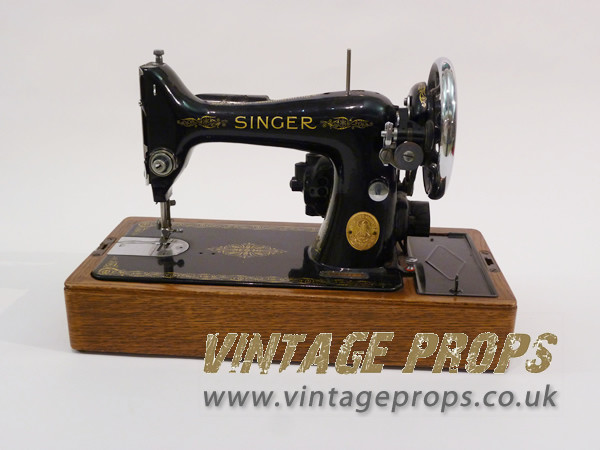 1: Vintage Singer Sewing Machine