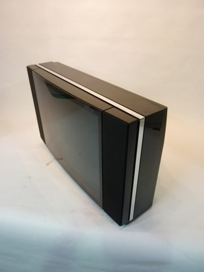 Large Black Widescreen BeoVision 1980's Curved TV