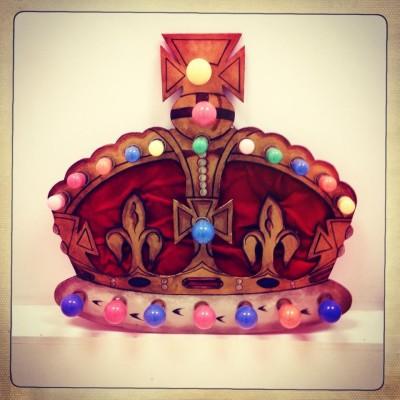 Illuminated Royal Crown