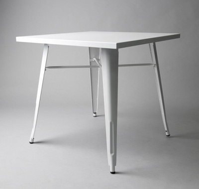 White Bistro Table