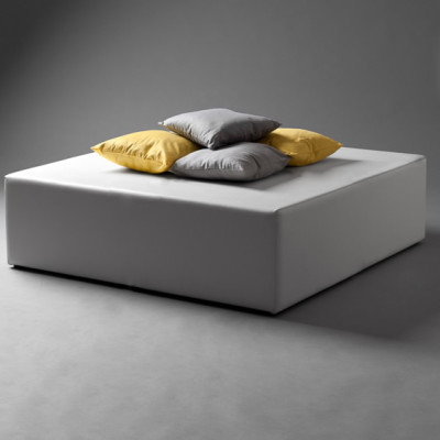 White Squared Daybed