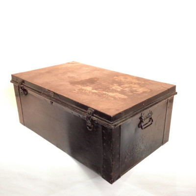 Black Metal Chest