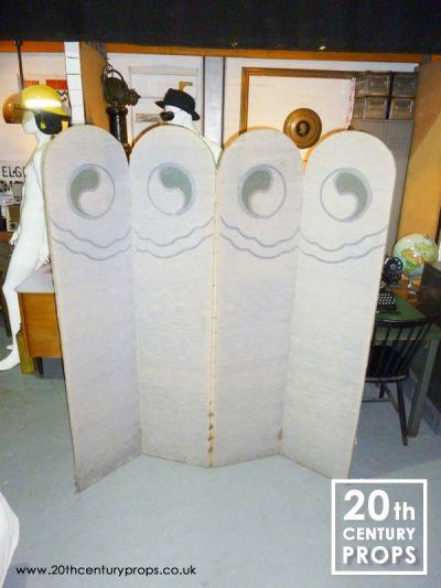 Art Deco folding screen