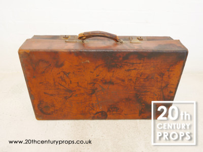 Leather Vintage Suitcase