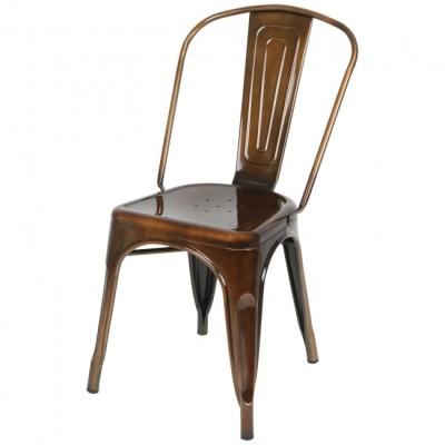 Copper Metal Outdoor Chair