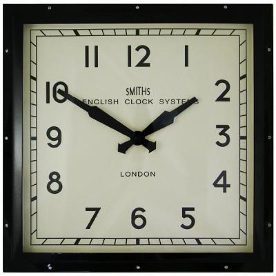 Smiths Industrial Wall Clock