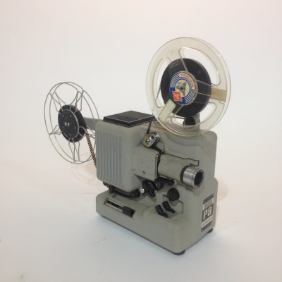 White Eumig 8mm Film Projector