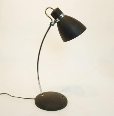Black Posable Desk Lamp