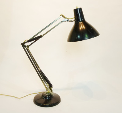 Black Angle Poise Desk Lamp