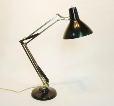 Black Angle Poise Desk Lamp