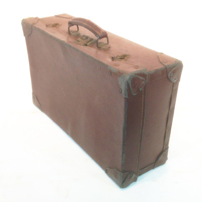 Brown Leather Suitcase 3