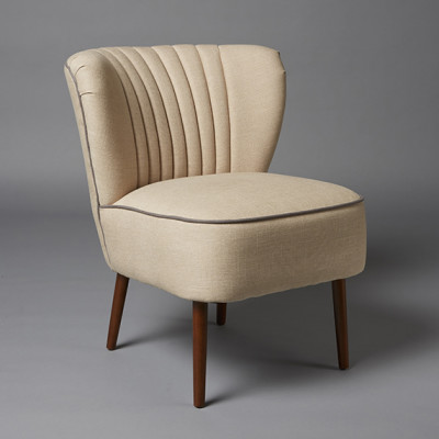 50's style cocktail armchair