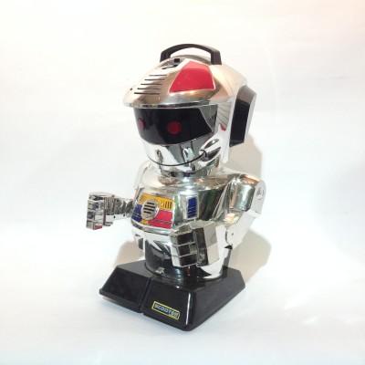 Large silver robot