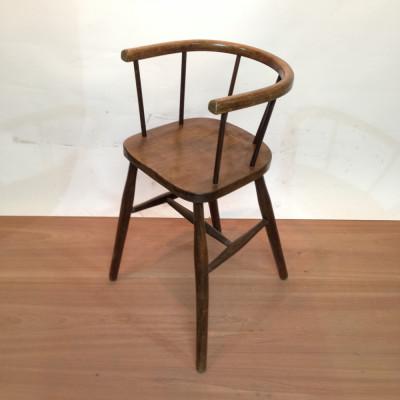 Child's Wooden Highchair