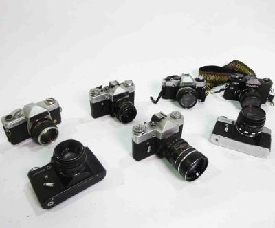 90's style SLR Cameras
