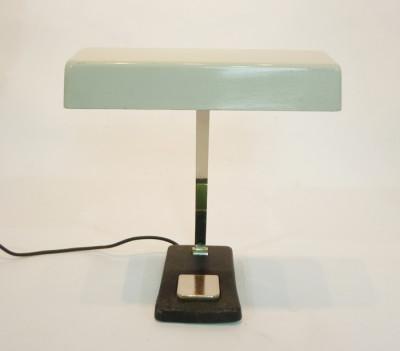 White Vintage Low Light Desk Lamp