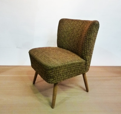 1950's Mid-Century Cocktail Lounge Chair