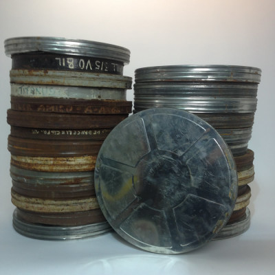 Large Metal 35mm Film Canisters