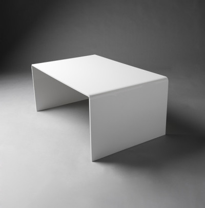 White Perspex Table