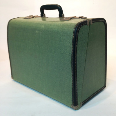Small Green Travel Case