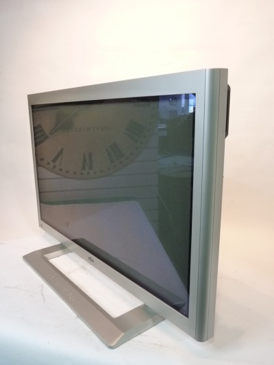 Large Silver Plasma Monitor 2000's