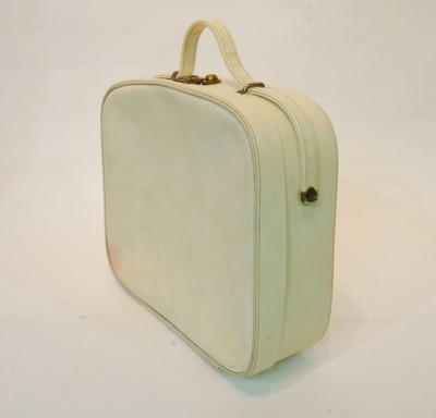 Small White Vanity Case