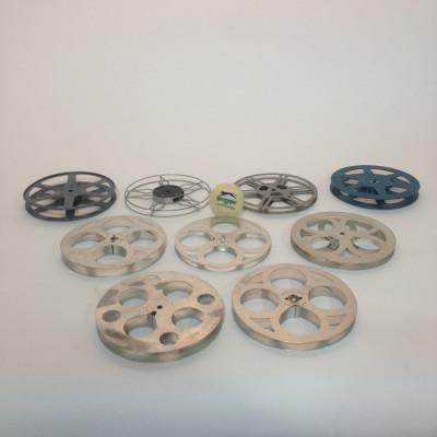 Medium Metal 8mm and 16mm Film Reels