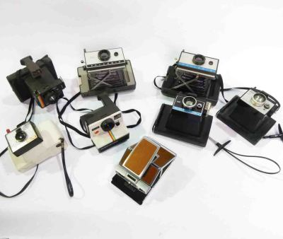 Retro Polaroid Cameras