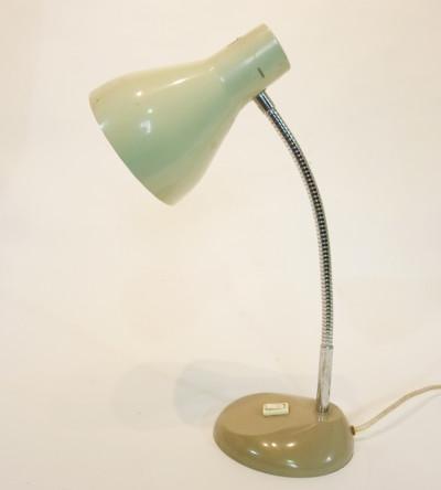 White Posable Desk Lamp