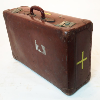 Brown Vintage Suitcase