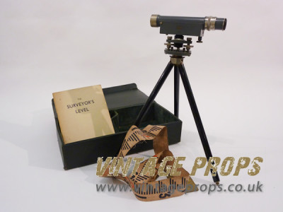 Vintage Theodolite and stand