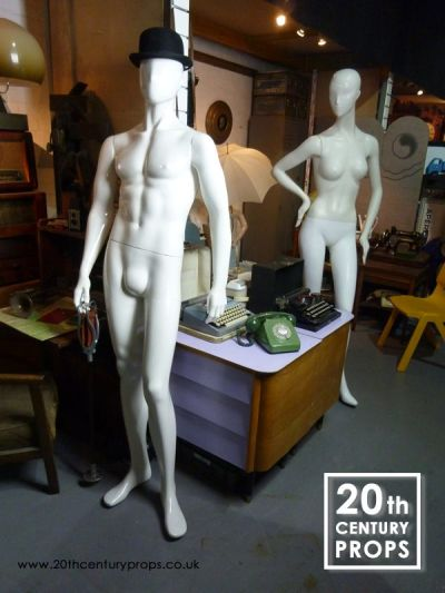 Male & Female mannequins