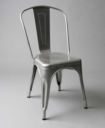 Grey Metal Outdoor Chair (With or Without Padding)